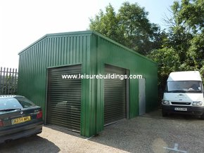 Capital Steel Portal Garage Workshop