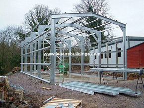 CSB Steel Framed Portal Building