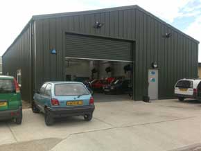 CSB Steel Garage Workshop Building - 1st Choice Leisure Buildings