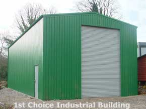 CSB Industrial Steel Frame Building - 1st Choice Leisure Buildings