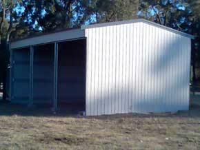 CSB Steel Storage Barns Workshop Building - 1st Choice Leisure Buildings