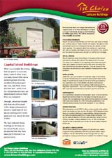 Capital Steel Garages