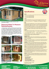 Diamond Summerhouses brochure
