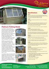 Platinum Potting Sheds