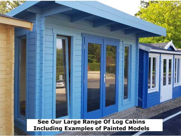 Timber Log Cabins - 1st Choice Leisure Buildings
