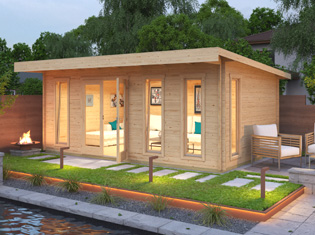 Trentan Log Cabins From 1st Choice Leisure Buildings