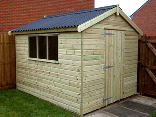 Wooden Garden Sheds From 1st Choice Leisure Buildings