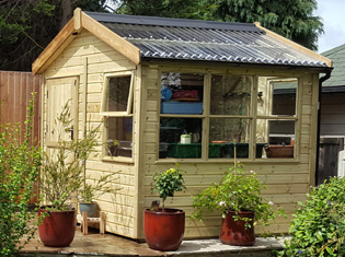 Timber Potting Sheds From 1st Choice Leisure Buildings