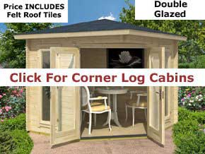 Trentan Corner Timber Cabins - 1st Choice Leisure Buildings