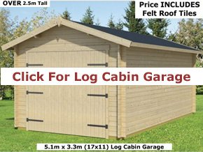 Trentan Timber Garage Cabins - 1st Choice Leisure Buildings