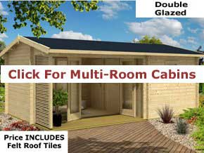 Trentan Multi Room Cabins - 1st Choice Leisure Buildings