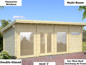 Trentan Ascot 2 Pent Timber Cabin