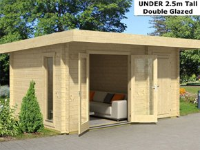 Trentan Chessington Cabin Shed Combo