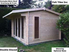 Trentan Chilworth Garden Cabin - 1st Choice Leisure Buildings