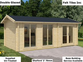 Trentan Shalford Wood Cabin - 1st Choice Leisure Buildings