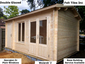 Trentan Wonersh Multi Room Log Cabin Shed