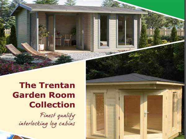Trentan Log Buildings Brochure - 1st Choice Leisure Buildings