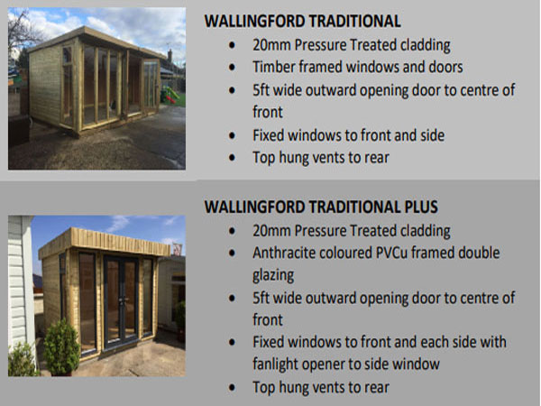 Platinum Richmond Pent Garden Office - 1st Choice Leisure Buildings