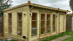 Summerhouse and Shed Combo - 1st Choice Leisure Buildings