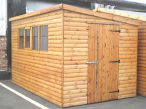 Classic Pent DPA Shed - 1st Choice Leisure Buildings