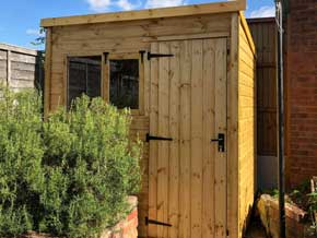 Classic Pent DPB Shed - 1st Choice Leisure Buildings