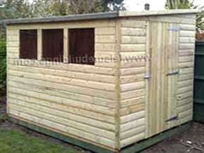 Classic Pent DPE Shed - 1st Choice Leisure Buildings