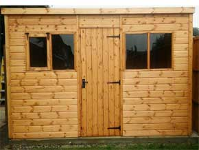 Classic Pent Special Shed - 1st Choice Leisure Buildings