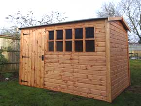 Platinum Southampton Apex Wooden Garden Workshop - 1st Choice Leisure Buildings
