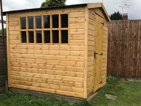 Wooden Garden Workshops Photo Album - 1st Choice Leisure Buildings