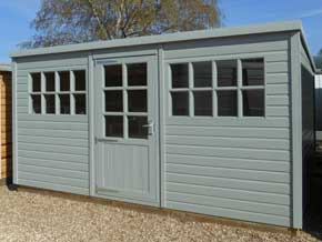 Georgian Pent Special Shed - 1st Choice Leisure Buildings