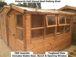 Diamond Petworth Solar Wooden Buildings - 1st Choice Leisure Buildings