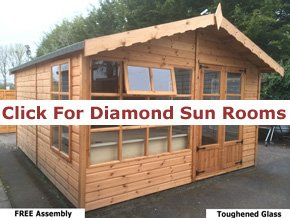 Diamond Summer Houses - 1st Choice Leisure Buildings