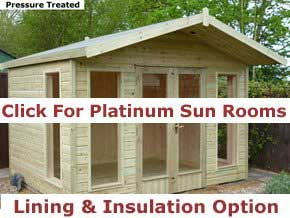Platinum Summer Houses - 1st Choice Leisure Buildings