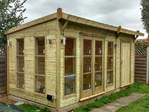 Summer Buildings and shed range - 1st Choice Leisure Buildings