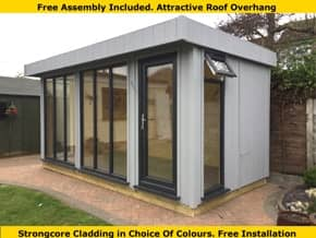 Platinum Richmond Pent Summer House - 1st Choice Leisure Buildings