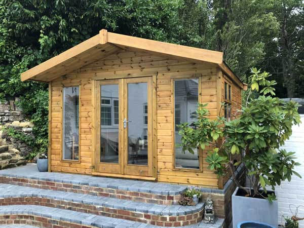 Wooden 10X6 Summerhouse - 1st Choice Leisure Buildings