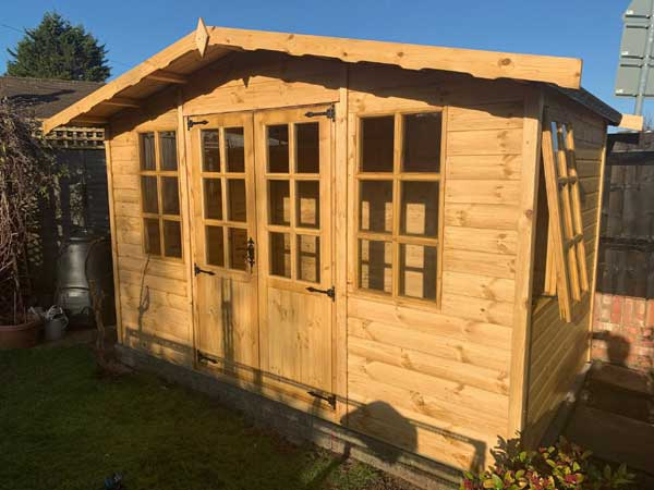 Timber 10ft x 10ft Summer House - 1st Choice Leisure Buildings