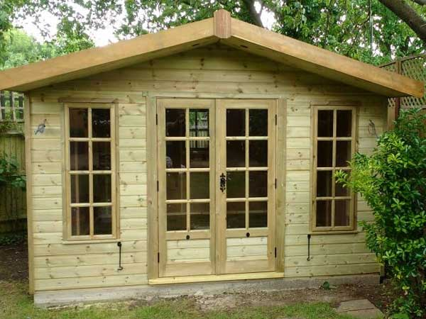 Wooden 12X8 Summerhouse - 1st Choice Leisure Buildings