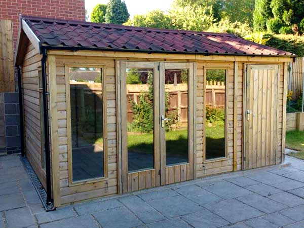 Wooden 14X10 Summerhouse - 1st Choice Leisure Buildings