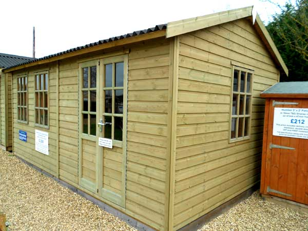 Timber 16ft x 8ft Summer House - 1st Choice Leisure Buildings