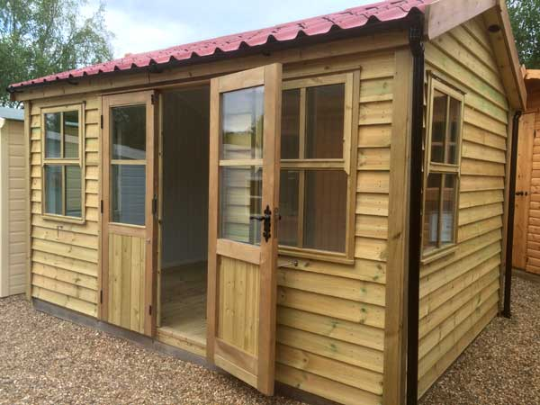 Wooden 8x5 Summerhouse - 1st Choice Leisure Buildings