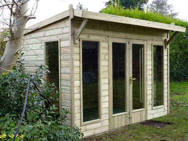 Timber 8ft x 5ft Summer House - 1st Choice Leisure Buildings