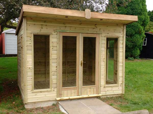 Timber 8ft x 7ft Summer House - 1st Choice Leisure Buildings