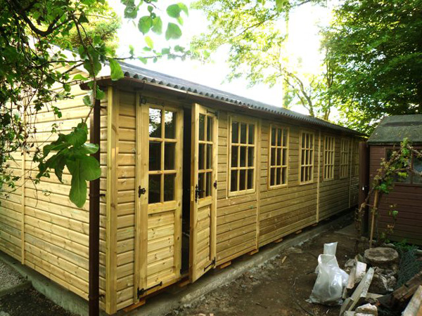 Wooden Summerhouse - 1st Choice Leisure Buildings