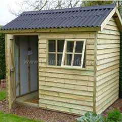 AH Wooden Shed for the Garden