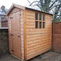 AJ Timber Shed for the Garden