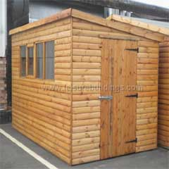 DPA Wooden Shed for the Garden