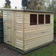 PF Style Wooden Shed