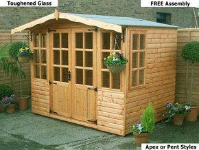 Diamond Ashby Summer House for Garden