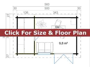 Trentan Alfold Cabin Floor Plan